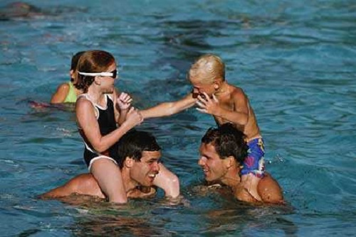 Игры на воде для детей 5-6 лет: советы папам