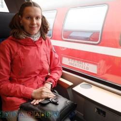 Поездка на двухэтажном поезде на 2м этаже (от Леголенда до Штуттгарта)!