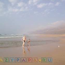 Дикие пляжи с песчаным ровным дном