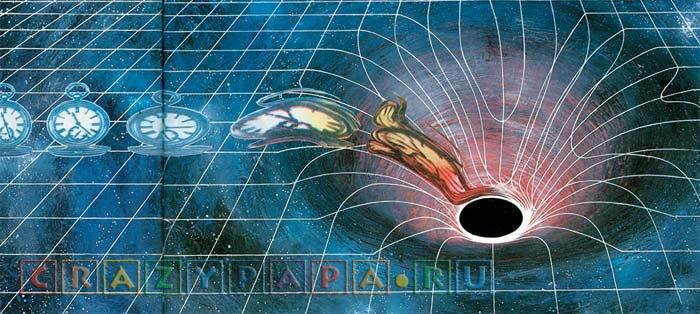 Черная дыра является дверью в параллельные измерения?