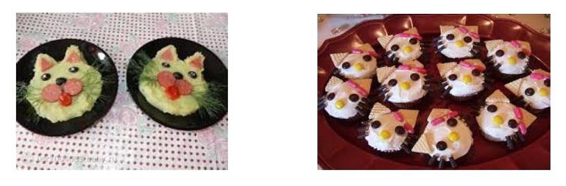 Веселые котята-близнецы