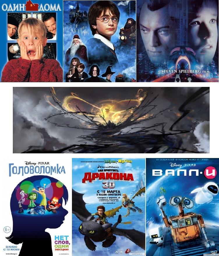 кино и мульты для мальчиков и девочек
