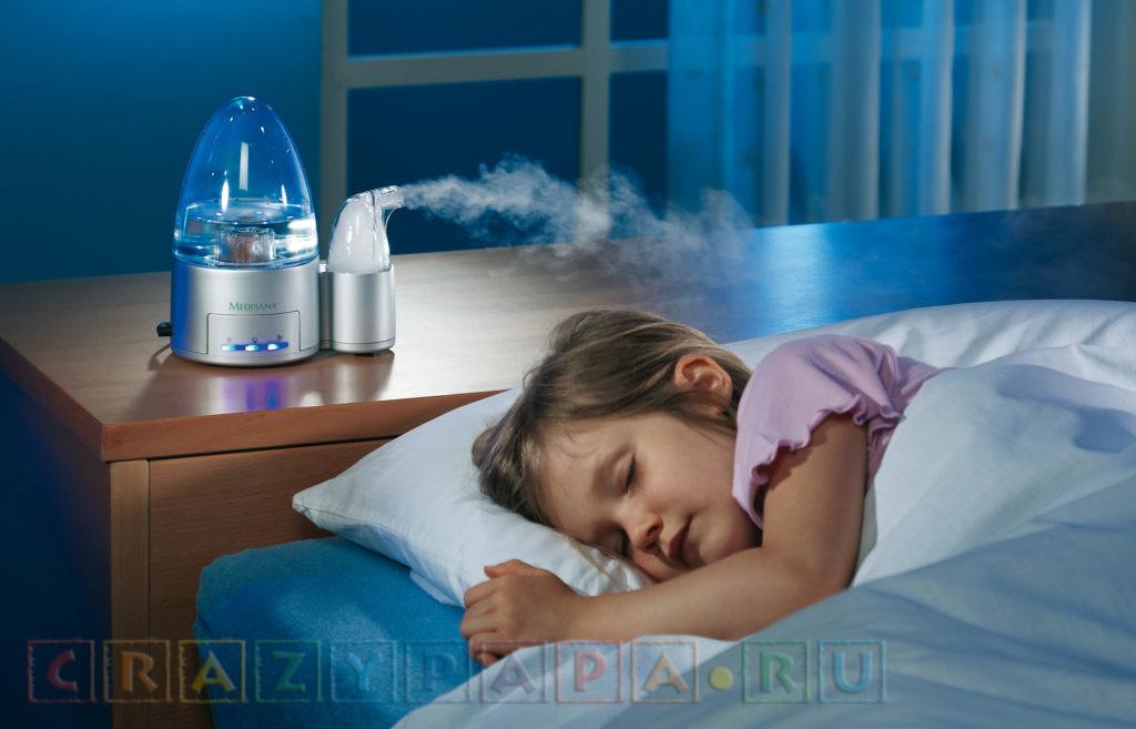 Как выбрать увлажнитель воздуха для ребенка?