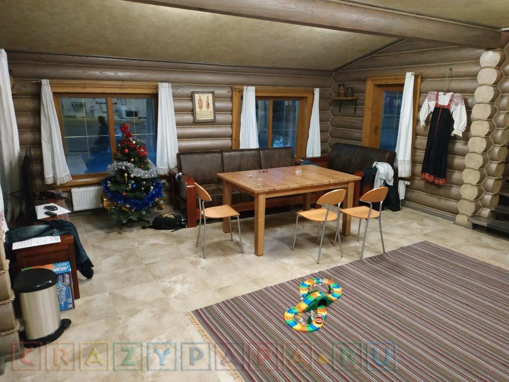Теплый пол в гостиной и санузлах на первом этаже