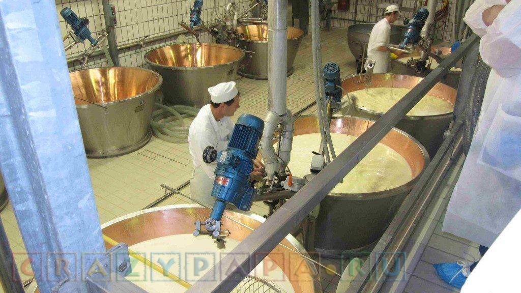 изготовление сливочного масла на производстве