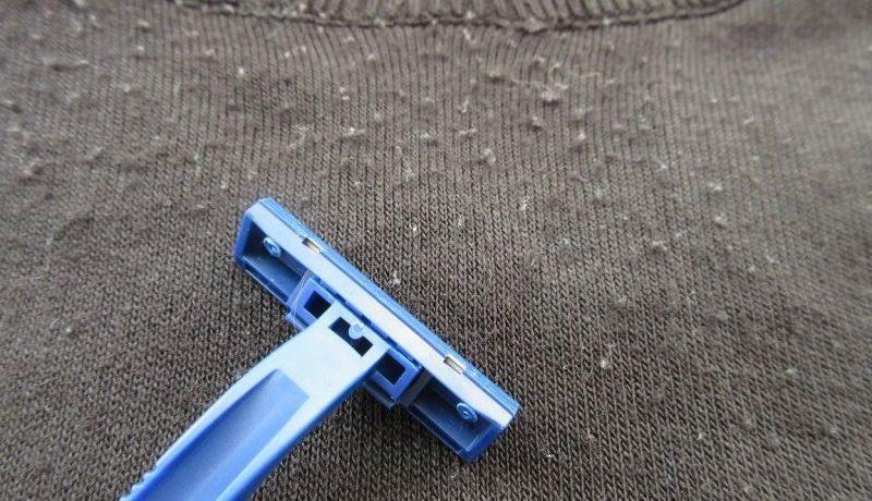 Катушки на одежде, или как убрать катушки с одежды и удалить их со стула