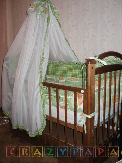 Продаю детскую кроватку в отличном состоянии