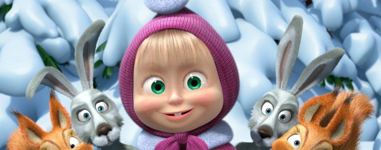 Новый русский детский мультфильм Маша и Медведь