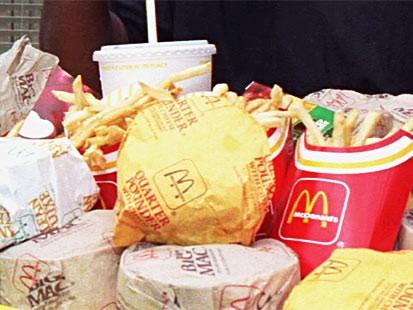 Ассортимент блюд МакДональдс (фото)