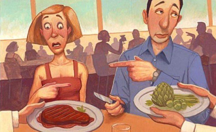 Отказ человека от мяса — месяц первый — вперед к вегетарианству! Читать в: http://www.crazypapa.ru/page/32/#ixzz5WSG1bW2H crazy