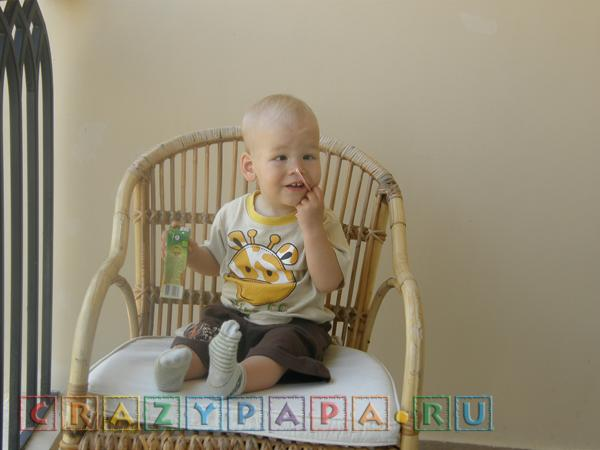 1 год 4 месяца, или 16 месяцев ребенку