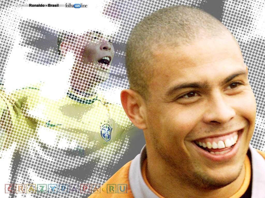 Один из лучших футболистов планеты Роналдо по кличке Зубастик