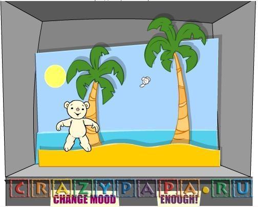 Щекотим медвежонка, или игры детям 2-3 лет онлайн