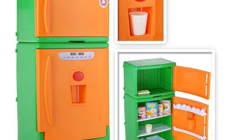 Детский двухкамерный холодильник