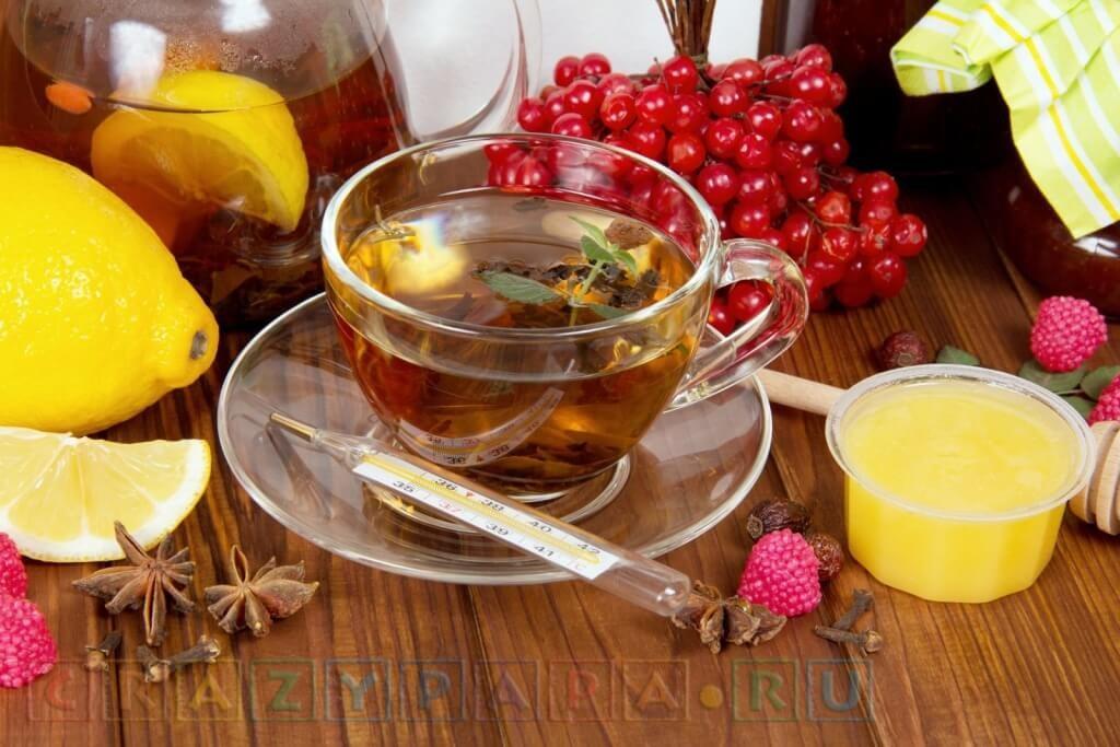 Народные средства от простуды насморка и кашля