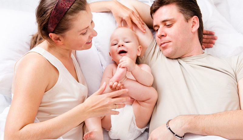 Рождение ребенка укрепляет семью